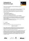 Projekthandbuch - Volleyball tut Deutschland gut - Seite 5