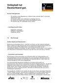 Projekthandbuch - Volleyball tut Deutschland gut - Seite 6