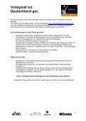 Projekthandbuch - Volleyball tut Deutschland gut - Seite 7