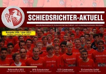 SR-Aktuell 06 / 2011 - Fußball und Leichtathletik Verband Westfalen ...