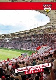 Dauerkartenverkauf 2012/2013 - VfB Stuttgart