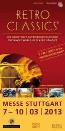 RetRo ClassiCs® - beim Mercedes-Benz W 124-Club