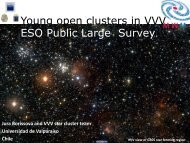 Young star clusters in VVV survey - ESO