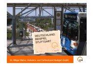 deutschland: beispiel stuttgart - Verband öffentlicher Verkehr