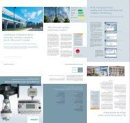 umfassende Unterstützung mit einfacher Bedienung - Siemens ...