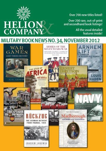 New and forthcoming books! - Helion & Company