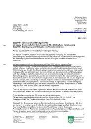 VVS Info an Oskar-Paret-Schule Verlegung Bankeinzug und ...