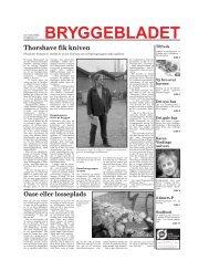 Ny bro over havnen - Bryggebladet