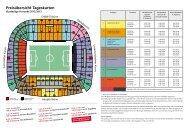 Preisübersicht Tageskarten - VfB Stuttgart