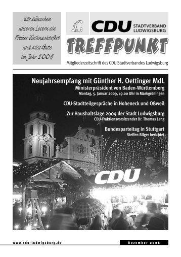 Nominierung des CDU-Bundestagskandidaten am Freitag, 18. Juli ...