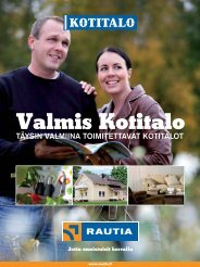 Valmis Kotitalo - Rautia