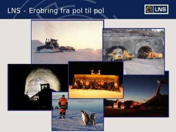 LNS - Erobring fra pol til pol