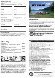 da[s] - Naturfreunde Radgruppe Stuttgart