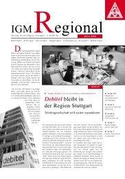 IGM Regional März 2000 - IG Metall Region Stuttgart