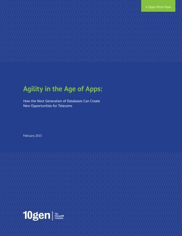 Agility in the Age of Apps: