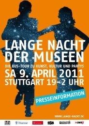 Presseinformation (pdf) - Die Lange Nacht der Museen