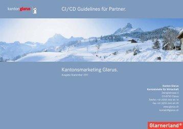 CI CD Guidelines Partner September 2011 [PDF, 6.00 - Kanton Glarus