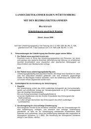 Unterbringung psychisch Kranker - Suchtkrankenhilfe-Schwaigern e.V.