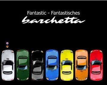 Fantastic - Fantastisches - Fiat Barchetta