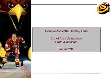 Téléchargez – Genève-Servette Hockey Club - Sur et hors