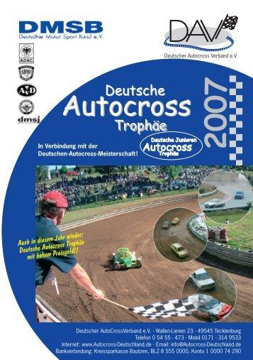 Autocross Autocross - Deutscher Autocross Verband