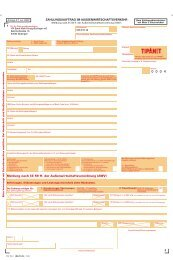 55737273150 Zahlungsauftrag TIPANET - VR Bank Main-Kinzig ...