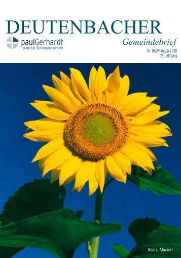 DEUTENBACHER - Paul-Gerhardt-Kirche