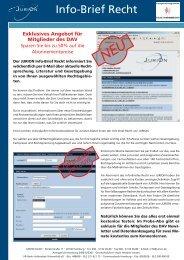Info-Brief Recht - Deutscher Anwaltverein
