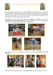 8. Schulanfänger-Party der VR-Bank Mittelsachsen eG