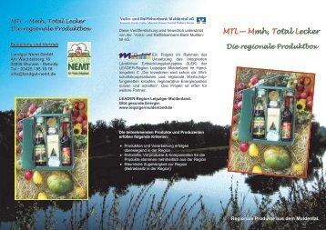 Infos zur Regionalkiste des Muldentals mit ... - Landgut Nemt