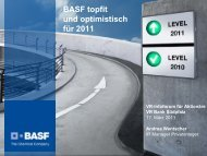 16. März 2011 - BASF.com