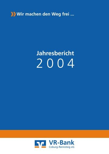 2004 - VR-Bank Coburg eG