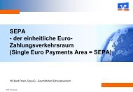 SEPA - VR-Bank Rhein-Sieg eG