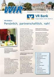 Wir - VR Bank eG Bergisch Gladbach