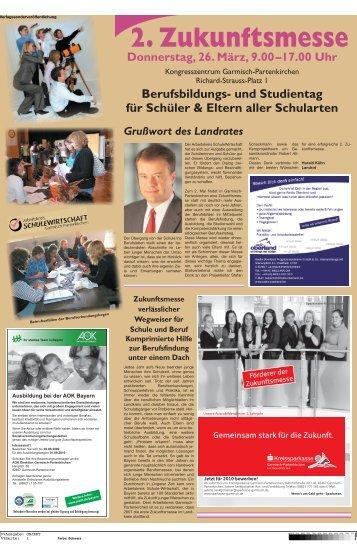 2. Zukunftsmesse - Arbeitskreis Schulewirtschaft-Bayern
