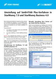 StarMoney - VR-Bank Bayreuth