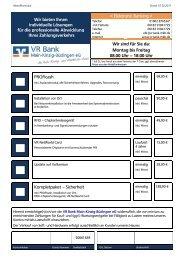 Bestellschein Online-Banking-Produkte (ProfiCash) - VR Bank Main ...