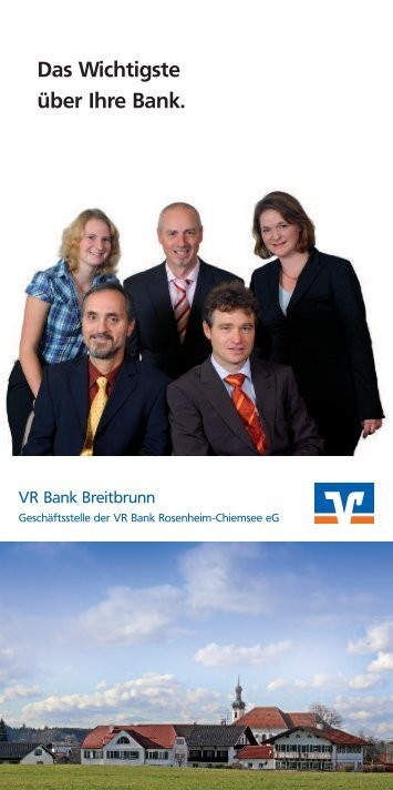 Vr Bank Chiemsee Eg