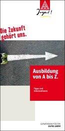 Ausbildung von A bis Z. - IG Metall Rostock Schwerin