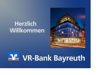 VR-Bank Bayreuth - ROM Consulting GmbH