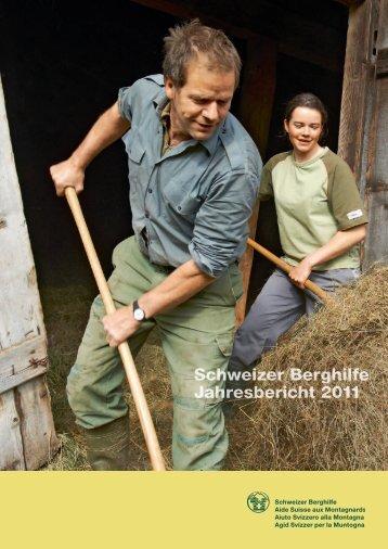 Schweizer Berghilfe Jahresbericht 2011
