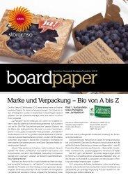 Marke und Verpackung – Bio von A bis Z - Stora Enso