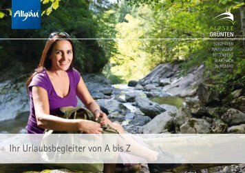 Ihr Urlaubsbegleiter von A bis Z - Burgberg
