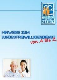 Hinweise zum BFD von A bis Z - Diakonie-Station Emlichheim