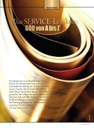 Service von A bis Z