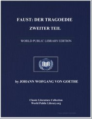 FAUST: DER TRAGOEDIE ZWEITER TEIL - World eBook Library ...