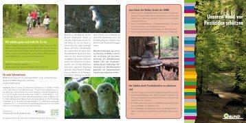 Unseren Wald vor Pestiziden schützen - BUND für Umwelt und ...
