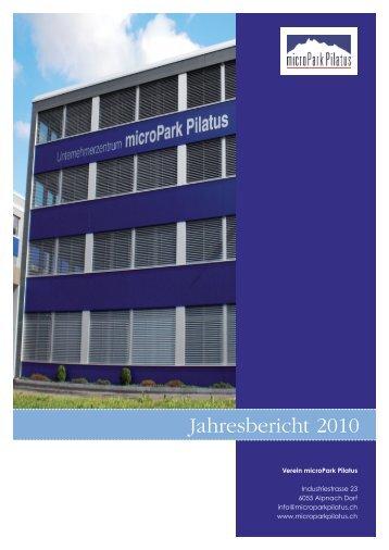 Jahresbericht 2010 (PDF) - Verein microPark Pilatus