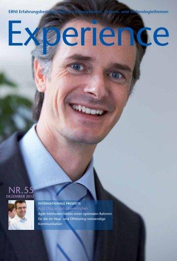 ERNI Erfahrungsberichte rund um Management-, Prozess- und ...
