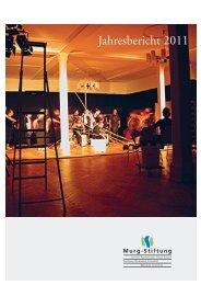 Jahresheft 2011 - Murg Stiftung